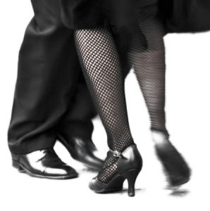 Privéles dansen voetenwerk